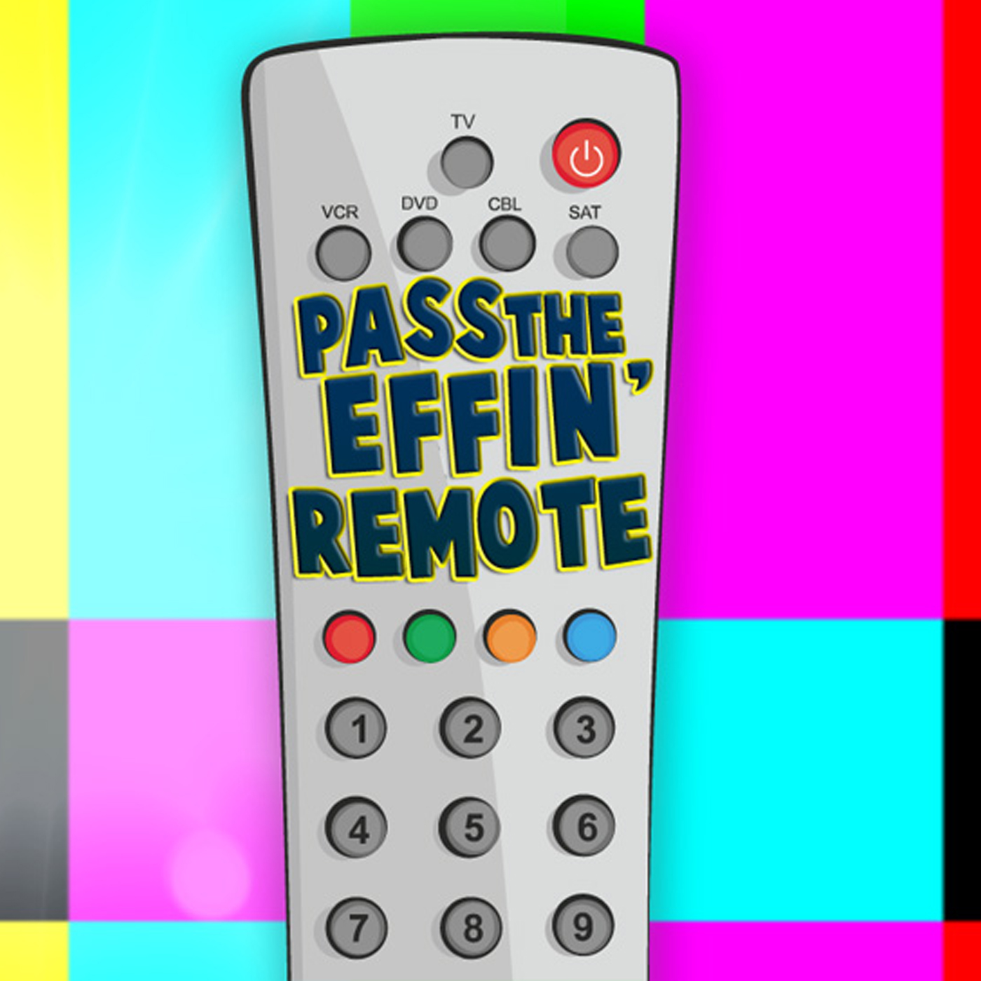 Pass the Effin' Remote!